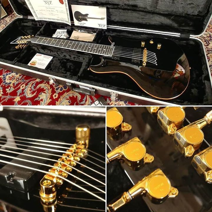 Lust For Life 7 Strings Direction Chile Featuring TonePros Bridge Gotoh Tuners And