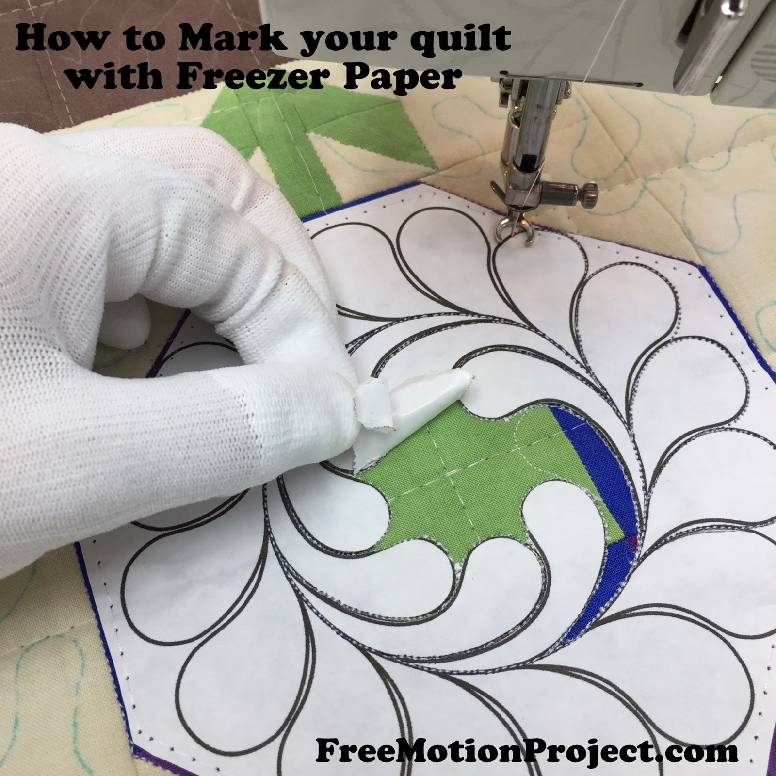 How To Mark Your Quilt Top Tutorial Machine Quilting Designs