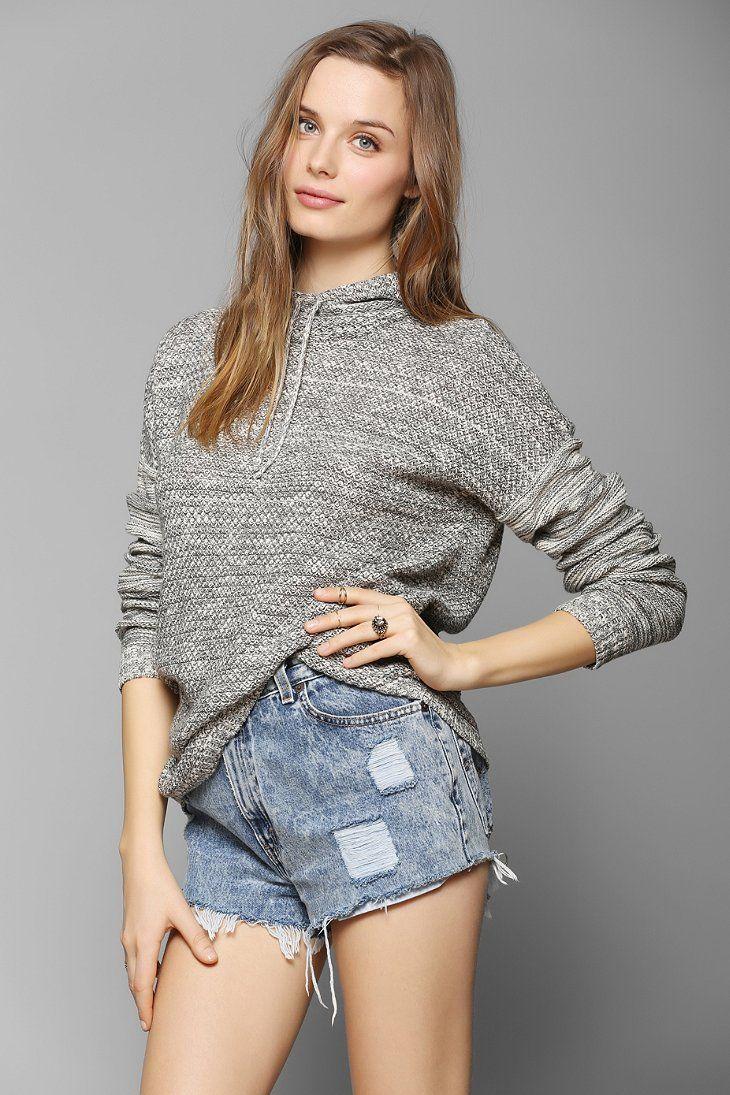 Staring At Stars Encinitas Sweater Hoodie - Urban Outfitters