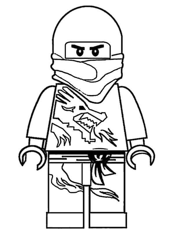 Malvorlage ninjago nias samurai roboter Coloring and