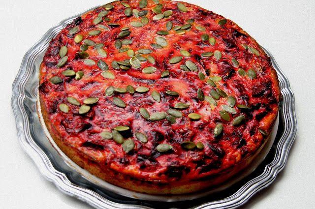 Beetroot quiche / KOTONA kokataan ja leivotaan: Punajuuripiirakka