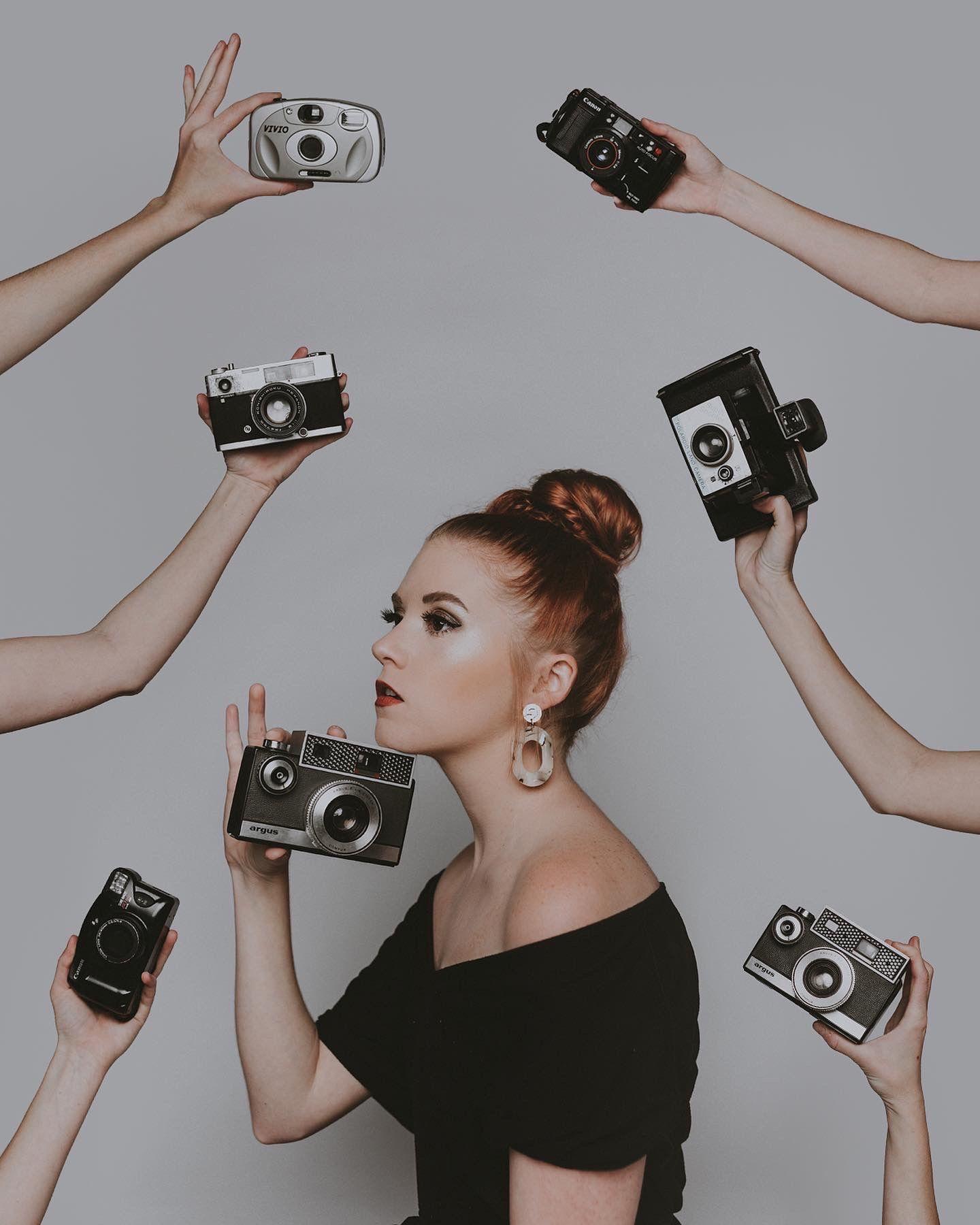 Camera Hands Photoshoot Marina Williams Portrait Photography Poses Photography Inspiration Creative Expressions Photography