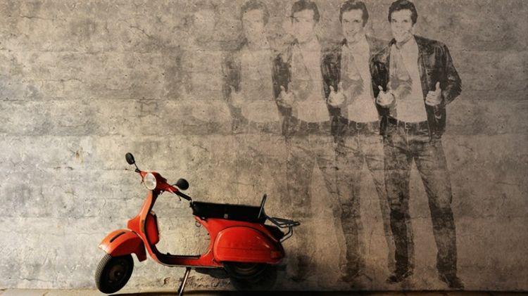 Vintage Tapete mit Retro Flair \u2013 Nostalgische Wandgestaltung mit - Wandgestaltung Wohnzimmer Grau Lila