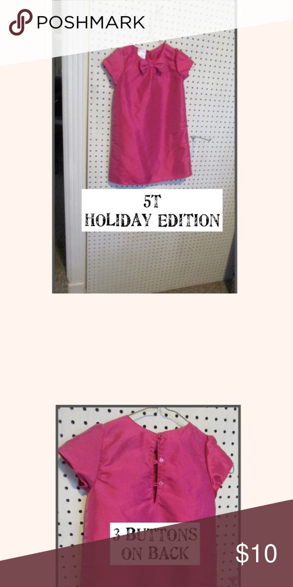 8a18fa6ee6d3 HOLIDAY EDITIONS GIRL'S DRESS HOLIDAY EDITIONS GIRL'S DRESS/EUC/SZ 5T/Shell  -