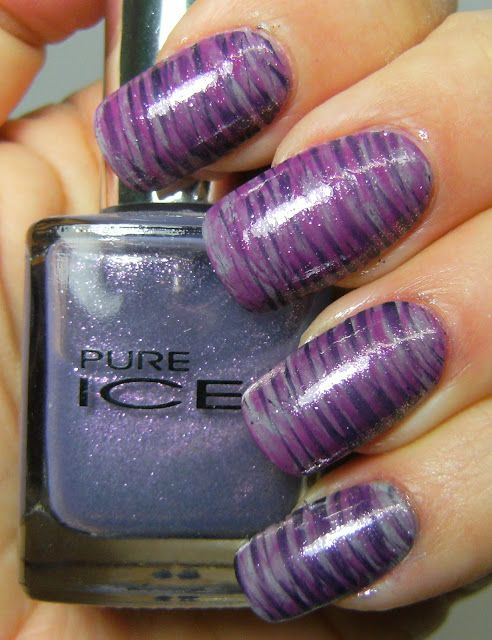Deez Nailz Fan Brush Nail Art Nails Pinterest Fan Brush Nails
