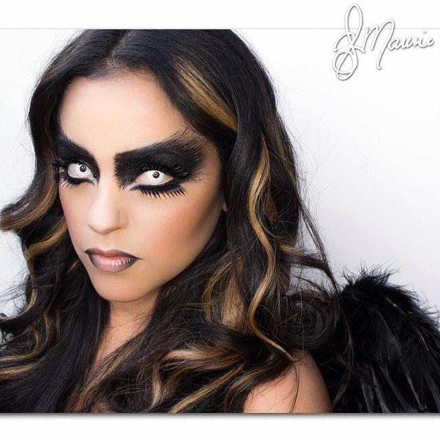 Elymarino S Photo On Instagram Schwarze Engel Schwarzer Engel Kostum Engel Make Up