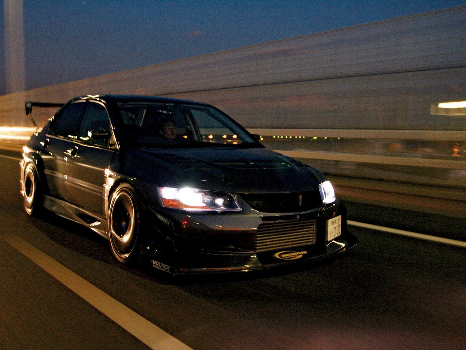 Mitsubishi evo 8 mr