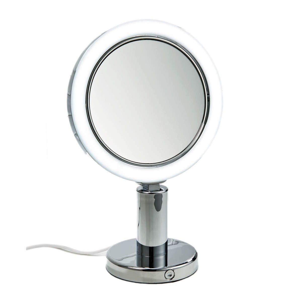Smile 301 Magnifying Mirror Illuminated 7x Cosmetic Mirror