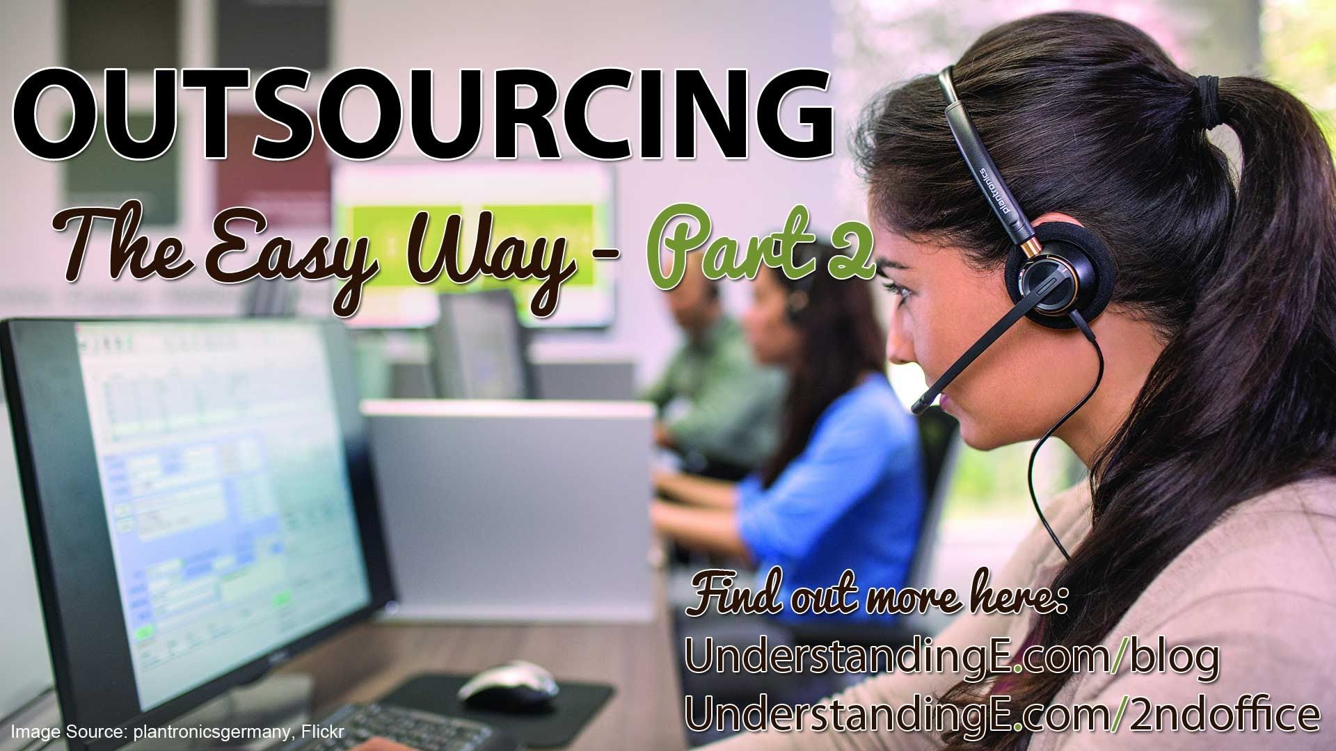 Part 2 outsourcing the easy way with carlo from 2nd office explore video tutorials offices and more baditri Choice Image