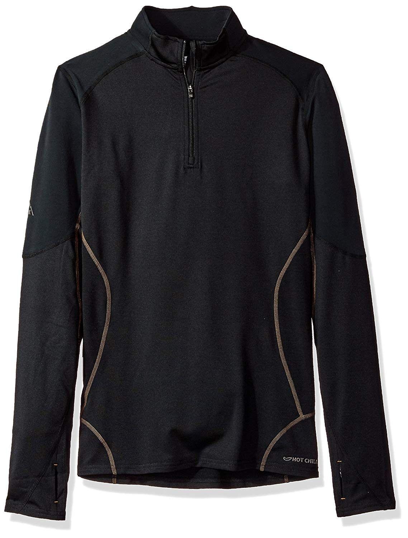 Women's F9 Endurance 8K Zip Tee - Black/Black - CT11UW8IIER - Sports & Fitness Clothing, Women, Base...