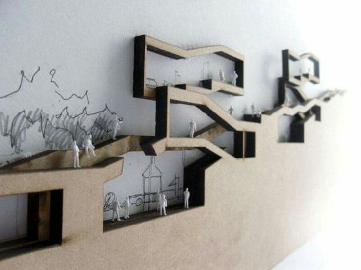 Picture Book Illustration Making An Architectural Model: Architectural Wall Section Models, Piano