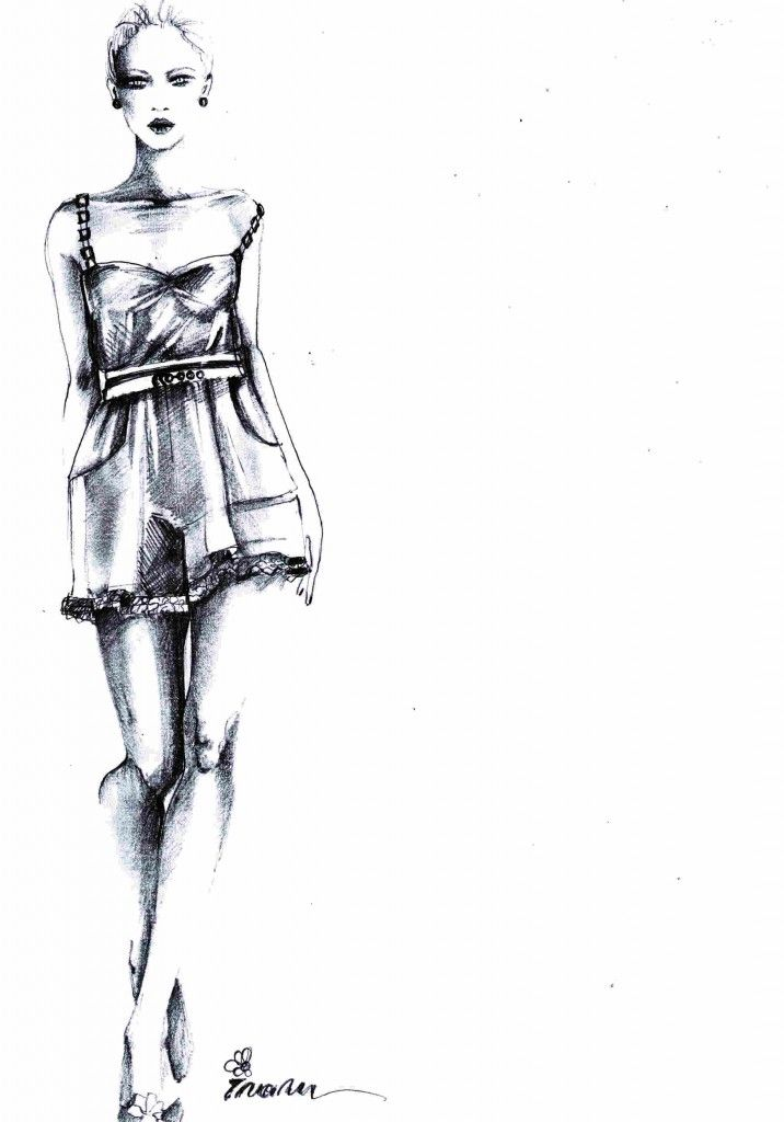 Fashion Design App Flat Sketches for phone and tablet 36