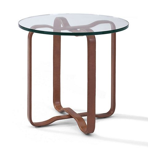 Superb Ralph Lauren By EJ Victor Cliff House Leather End Table
