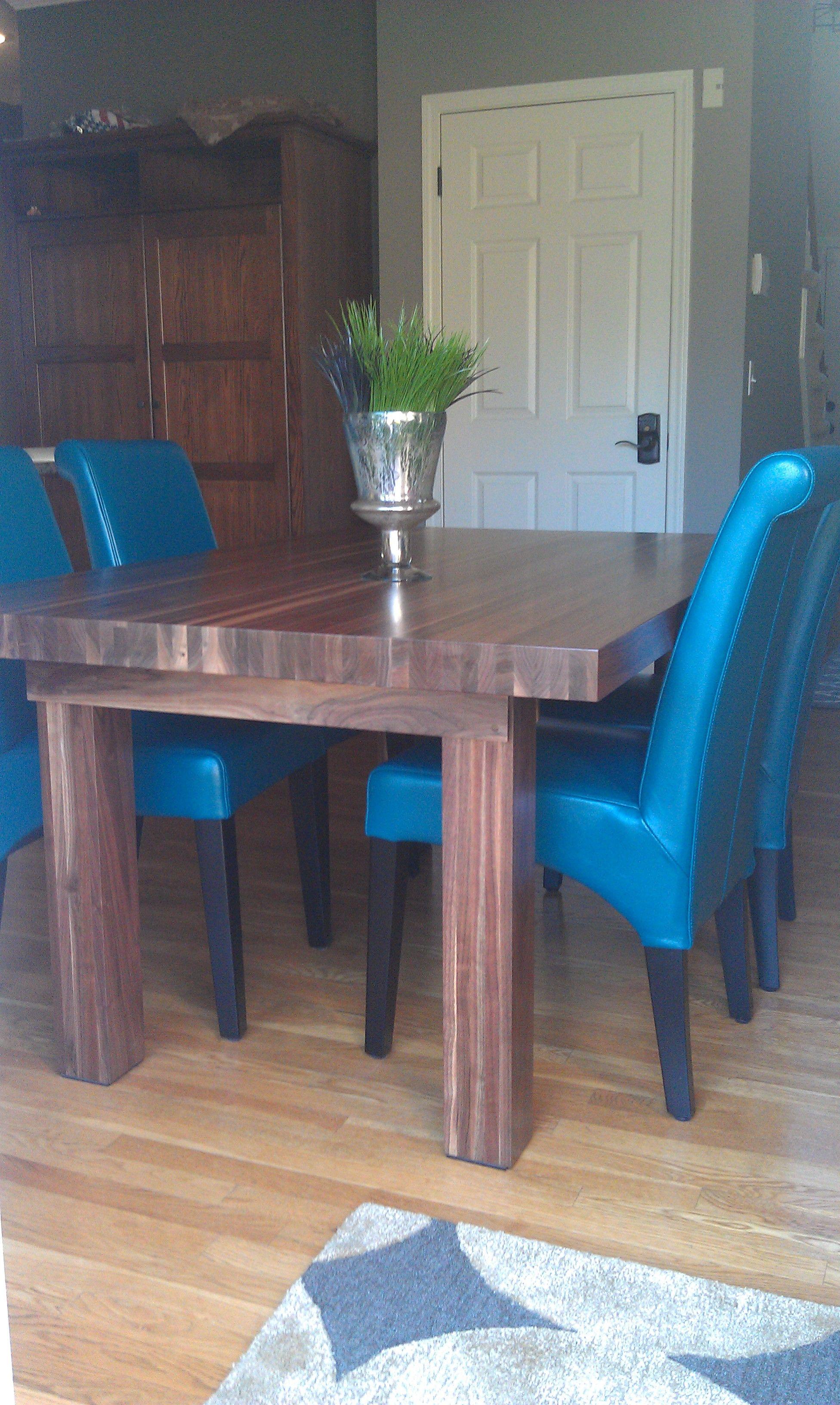 Custom Built Walnut Dining Room Tableamish Neighbor With Impressive Custom Built Dining Room Tables Decorating Inspiration