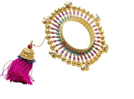 Amrapali signe les bijoux du défilé Manish Arora