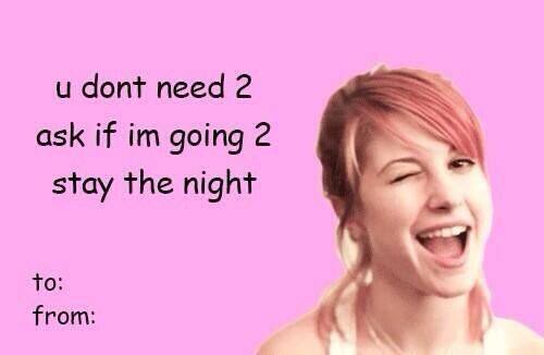 Valentines Day Card Bands Tumblr Bad Valentines Band Tumblr Valentines Memes