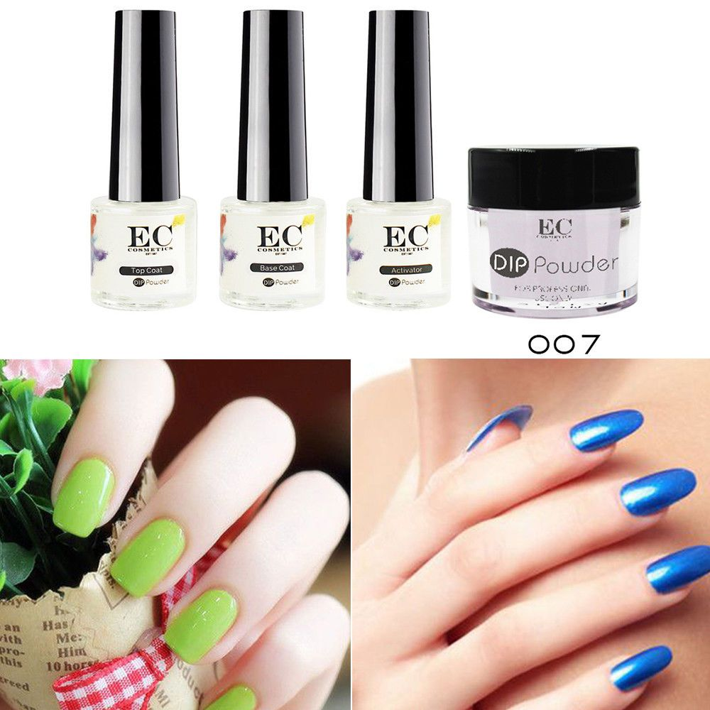 Details about gel polish dipping powder color acrylic nail