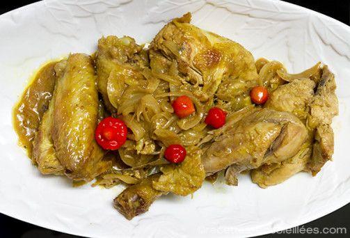 Recettes-Ensoleillees » Poulet mariné au citron   Chicken with Lemon