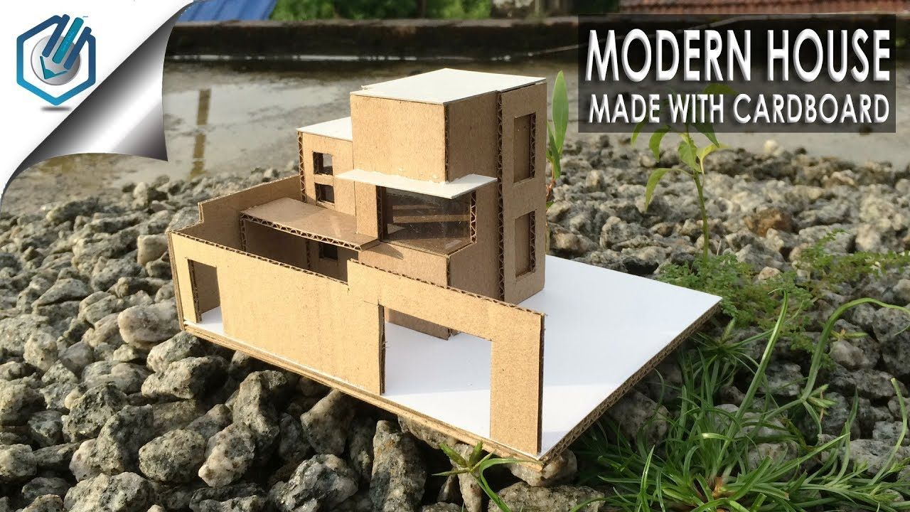 Model making of modern architectural building youtube
