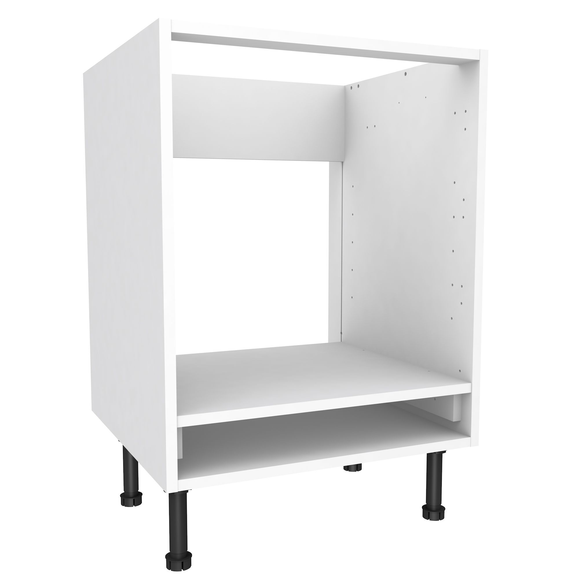 Cooke & Lewis White Oven Housing Base Cabinet (W)600mm | Base ...