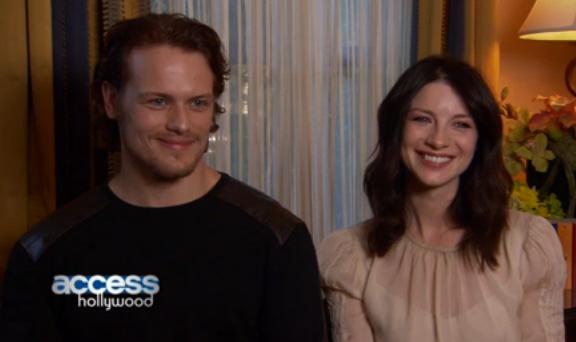 Outlander Life: Access Hollywood Interview: Caitriona Balfe & Sam Heughan