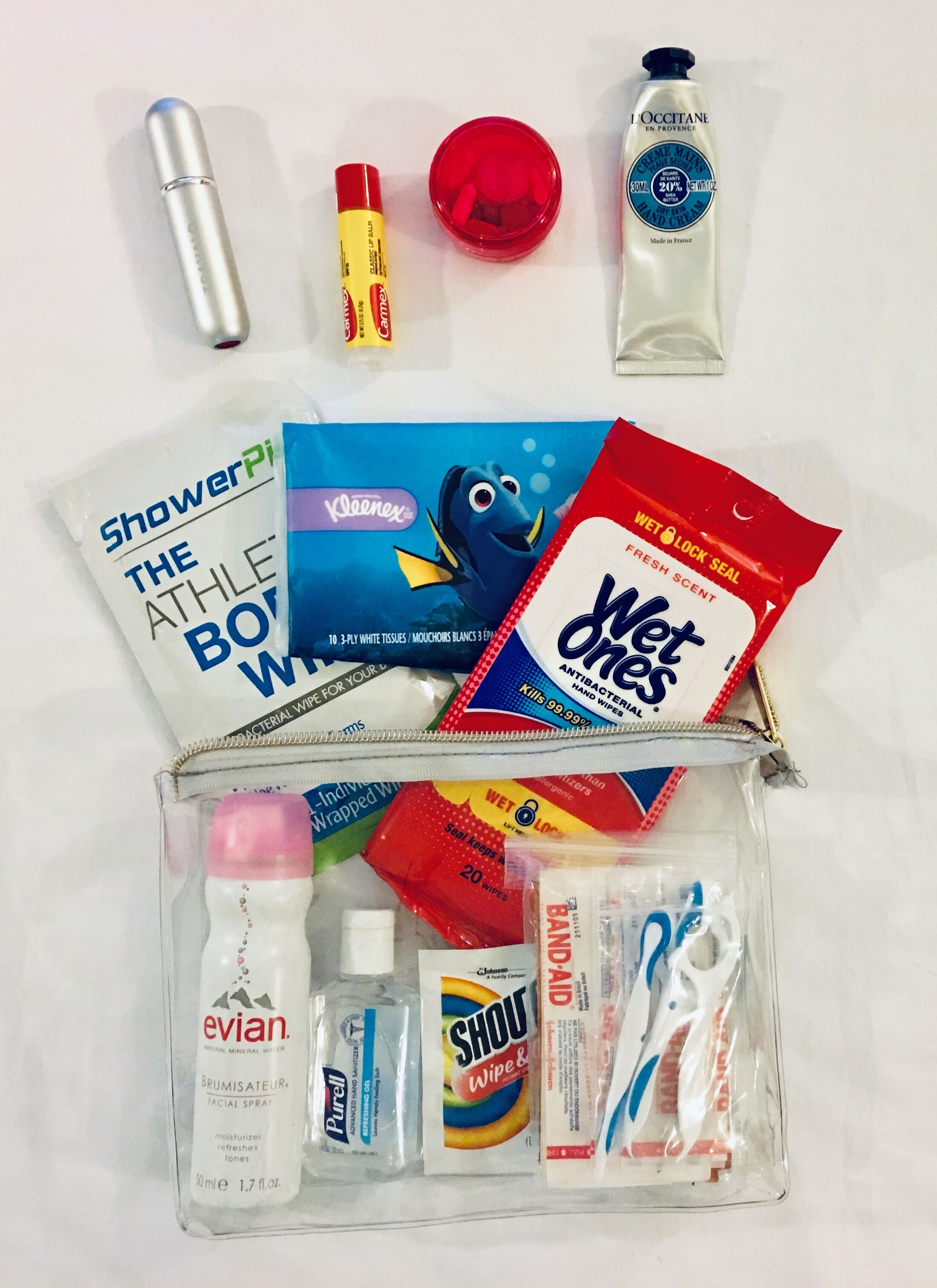 One Quart Bag For Liquids For My Carry On 1 Oz Hand Sanitizer For