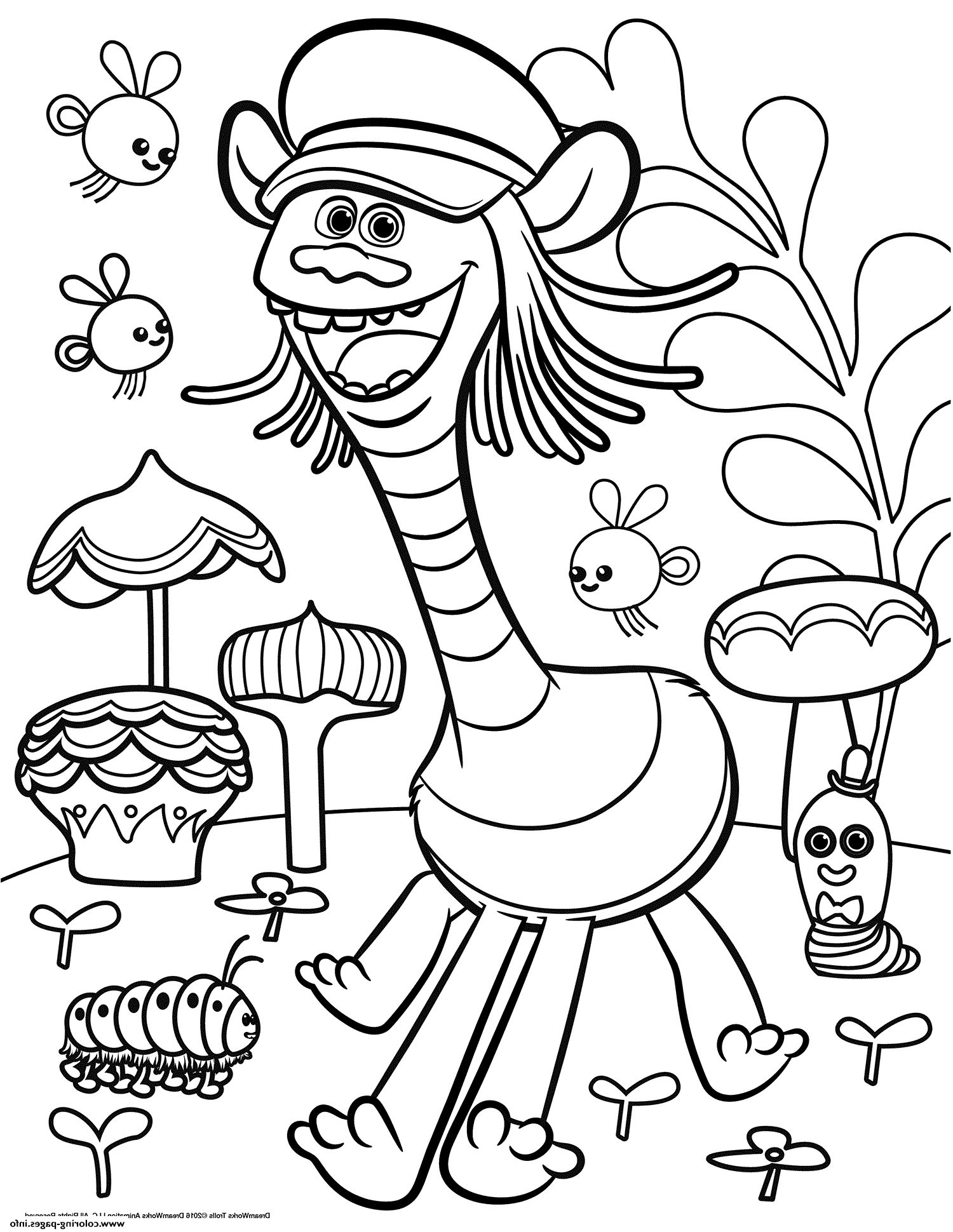 Coloring pages trolls - Image Result For Trolls Coloring Pages
