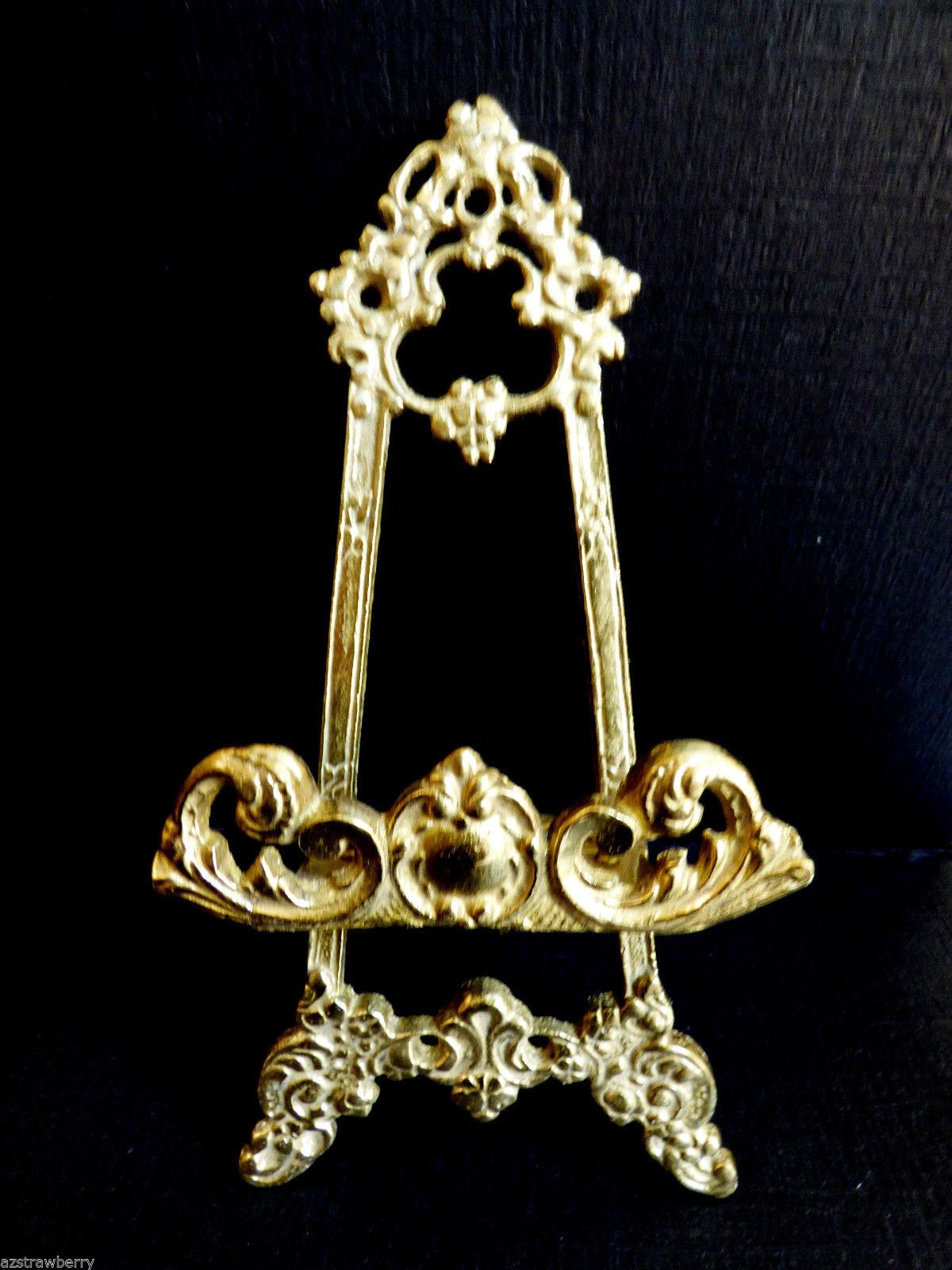 Andrea Sadek Japan Solid Brass Picture Frame Plate Easel Holder ...