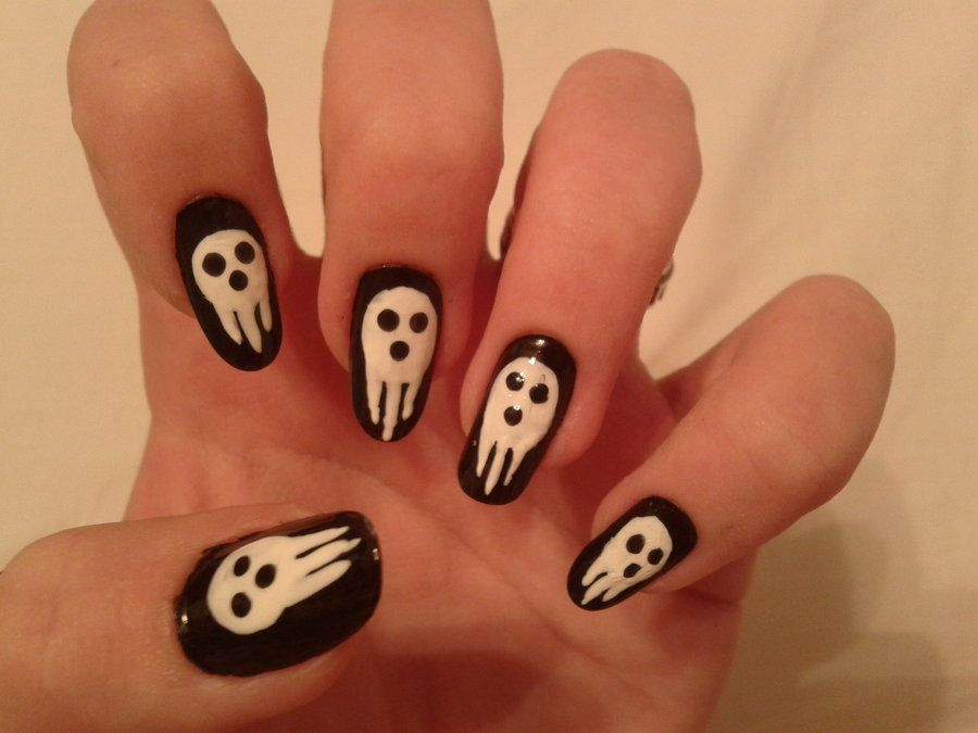 Soul Eater Nails By Kotys On Deviantart
