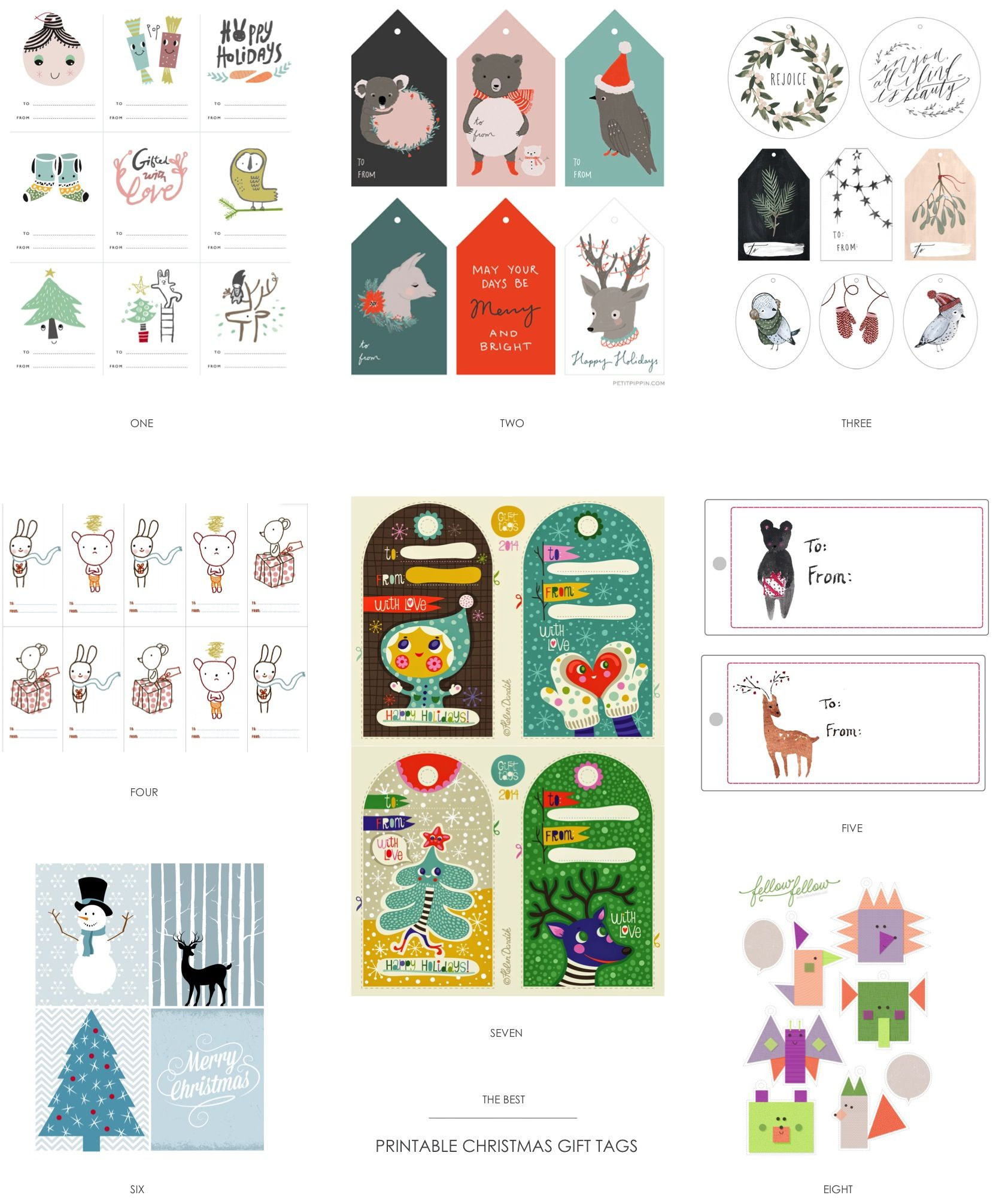 The best free printable christmas gift tags from around the web the best free printable christmas gift tags from around the web freeprintables christmasgifttags negle Images