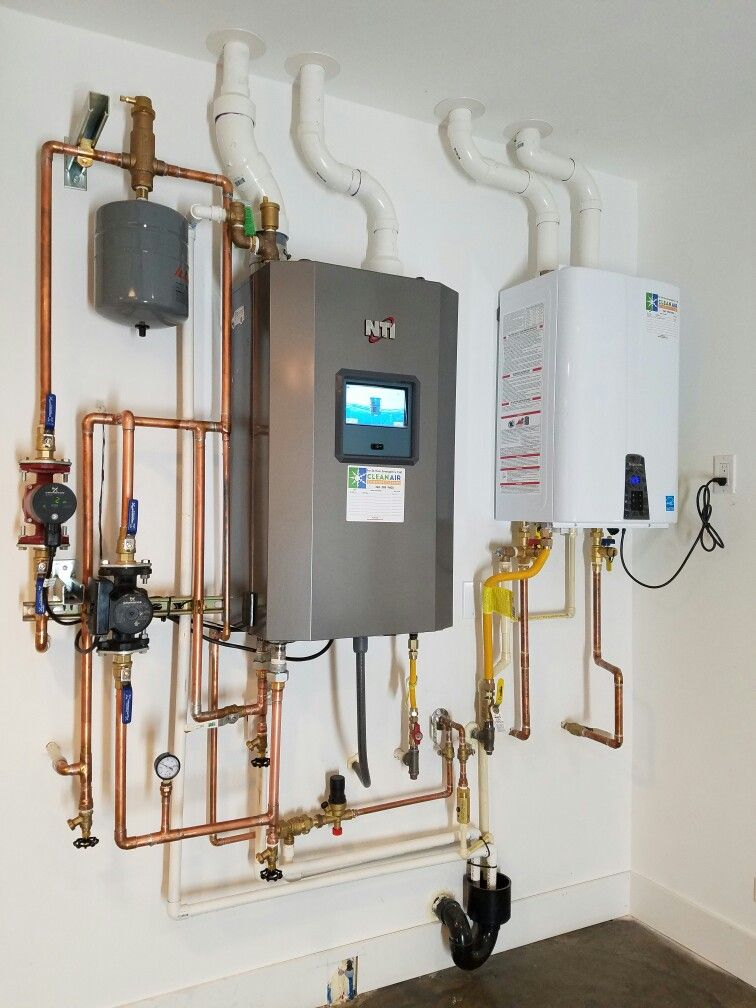 NTI High Efficiency Propane Boiler, for in floor radiant heat ...