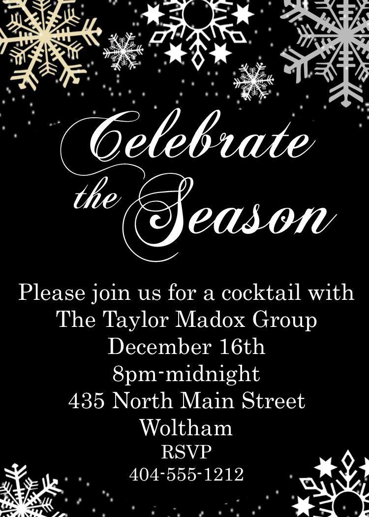 Christmas Party Invitation Background Design Valoblogi Com