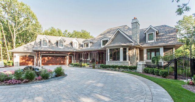 custom built homes country house exteriorsfrench