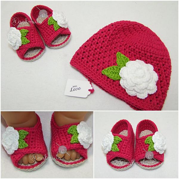 Crochet baby hat & slippers | crochet | Pinterest | Zapatos, Tejido ...