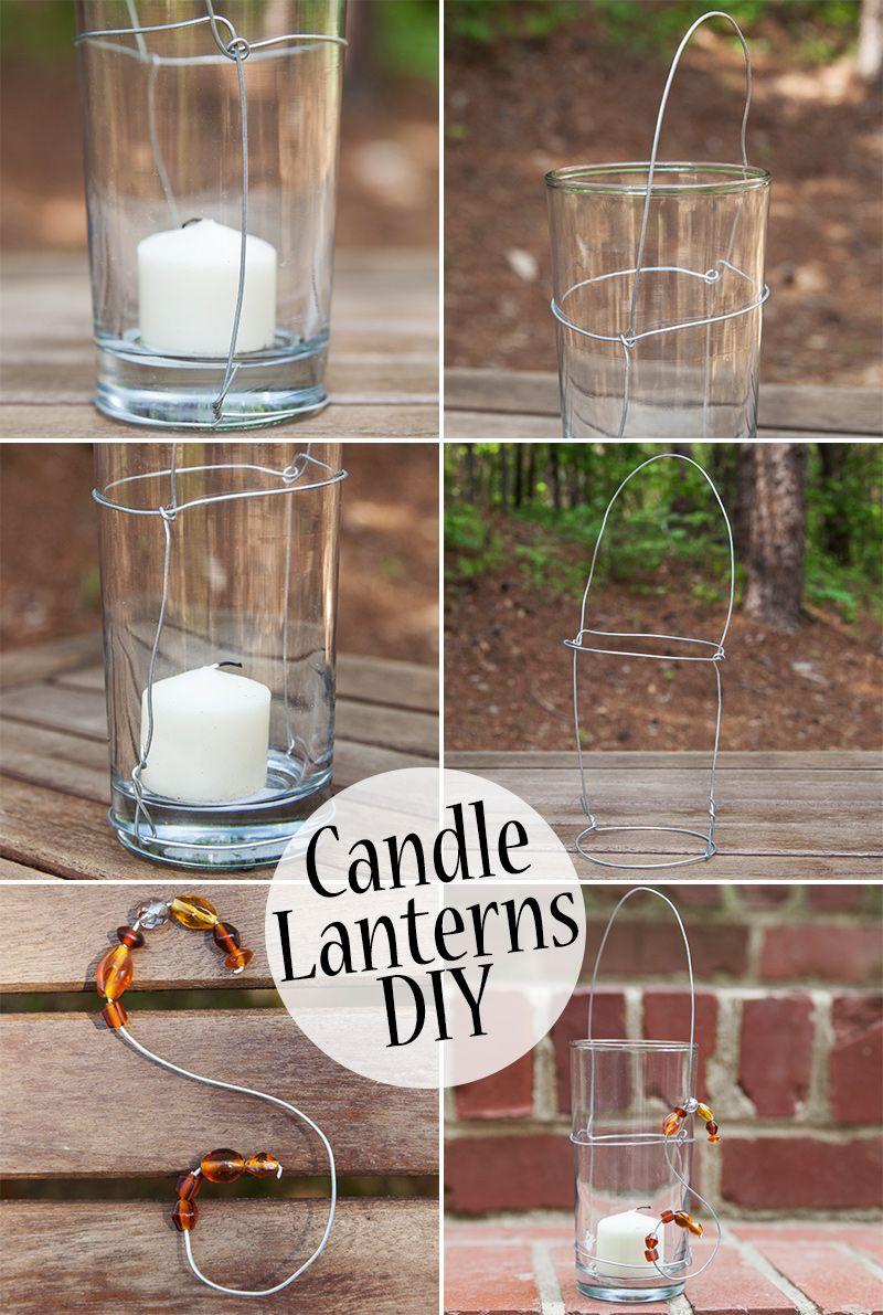 make these amazing candle lanterns your next diy diy candle