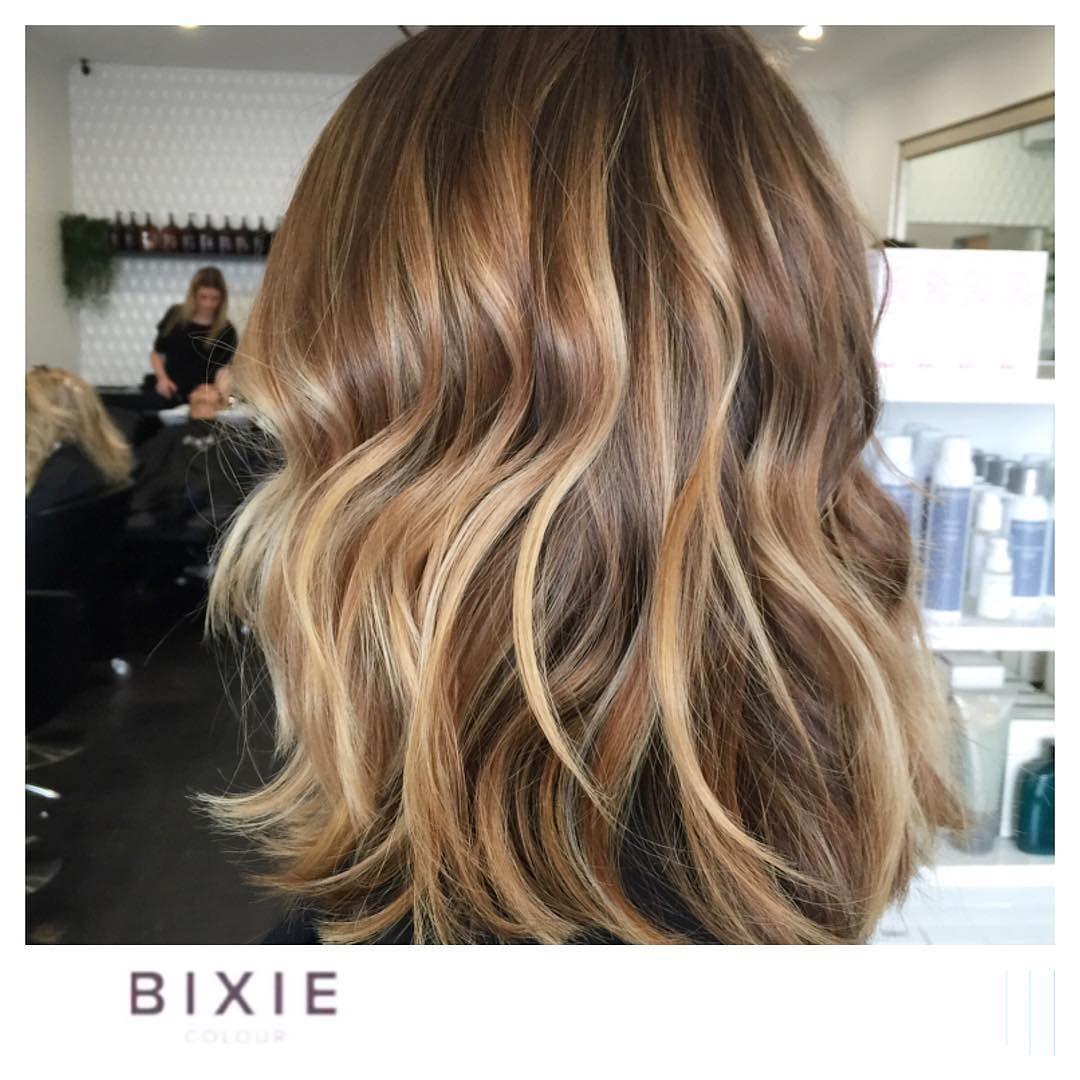 Multi dimensional hair colour. Loving the tones we are