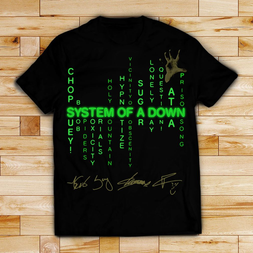 System Of A Down Chop Suey Byob Spiders Toxicity Aerials Holy