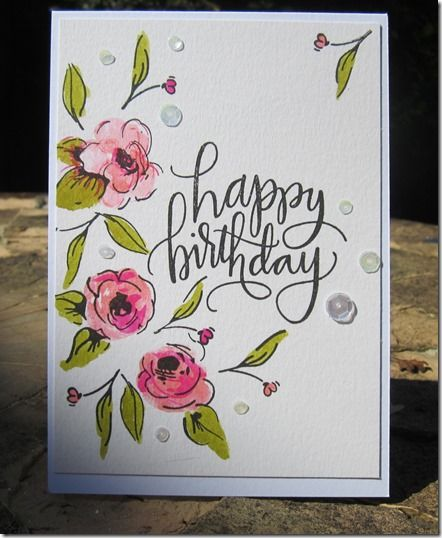 GlitterAngel Art Caligraphy Happy BirthdayHappy