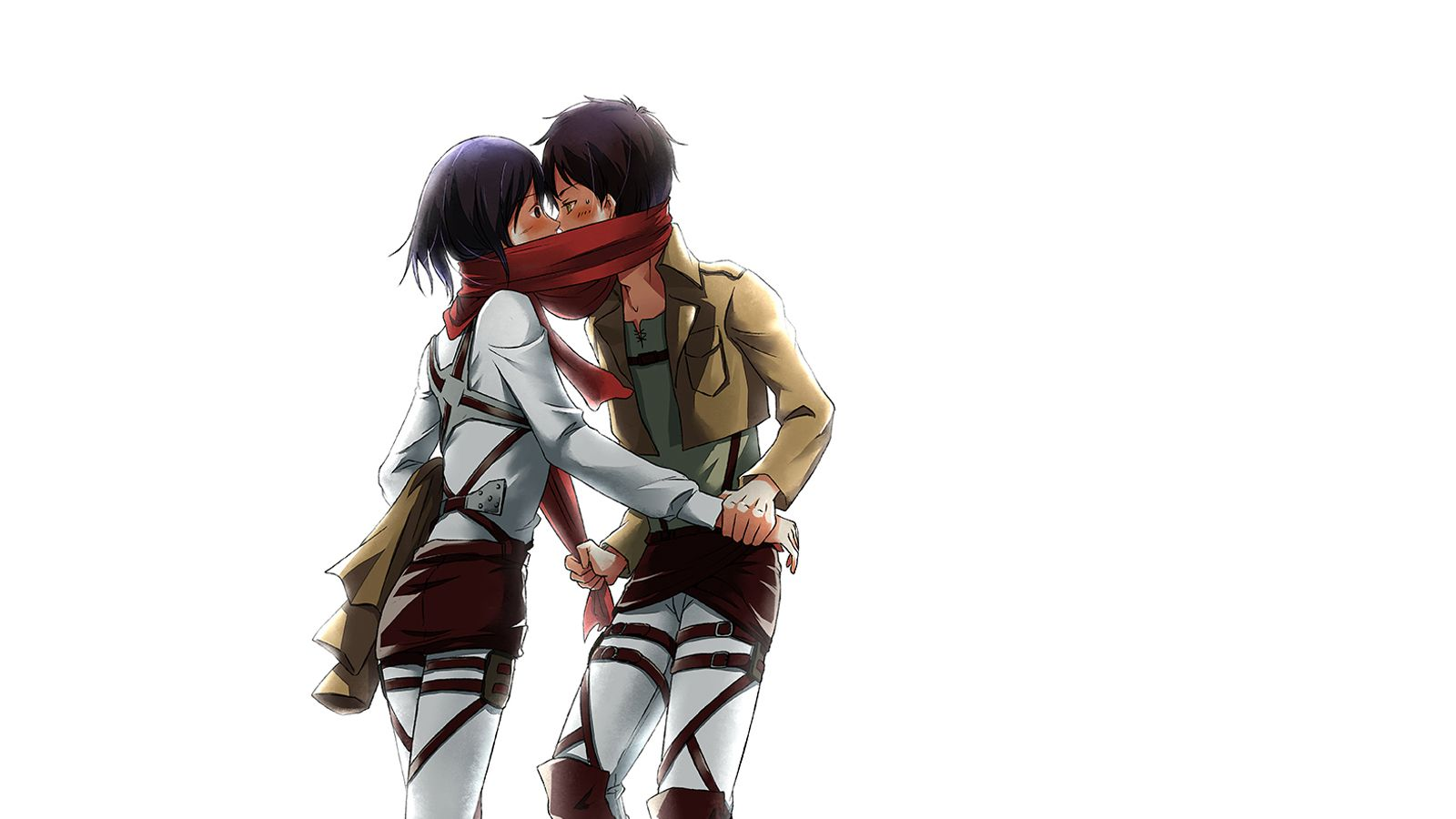 Animefullfights Com Eren And Mikasa Attack On Titan Ships Attack On Titan