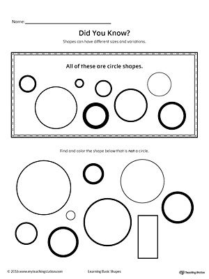 geometric shape sizes and variations circle geometric shapes math worksheets geometric. Black Bedroom Furniture Sets. Home Design Ideas