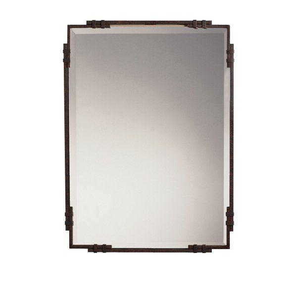 Kichler Lighting 41046 Beveled Bathroom Mirror Kichler Lighting