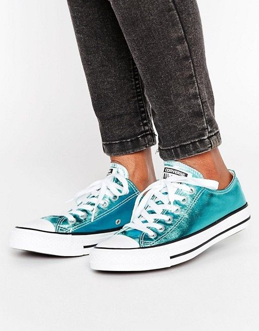 Converse Chuck Taylor All Star Ox Metallic Sneakers  40e179b3283