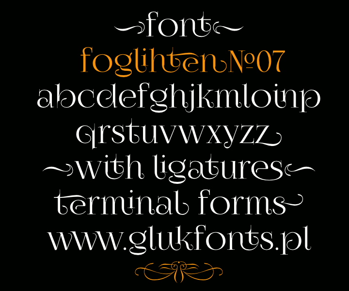 FoglihtenNo07 font by gluk - FontSpace this has album cover