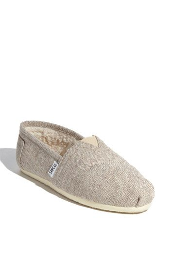 8b81b9b3ed2 TOMS  Herringbone Fleece  Slip-On (Women) (Exclusive) available at  Nordstrom - I want these for house shoes!