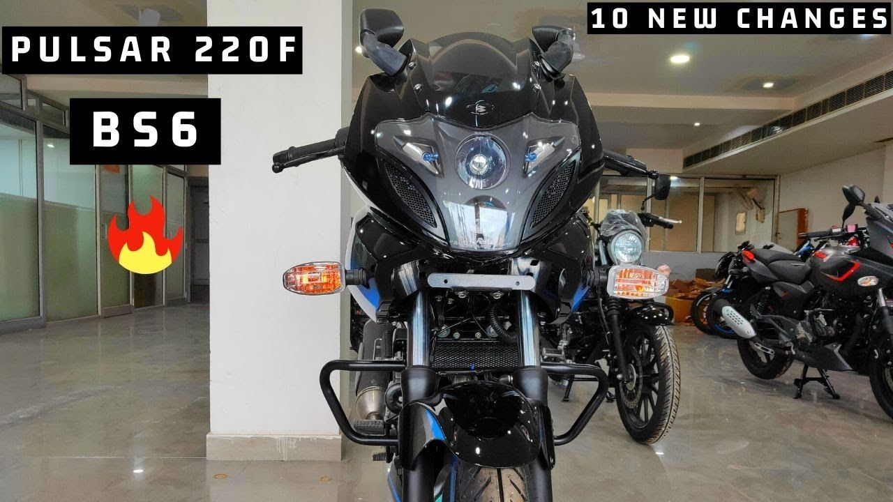 Bajaj Pulsar 220f Bs6 Finally Launch In India Price New