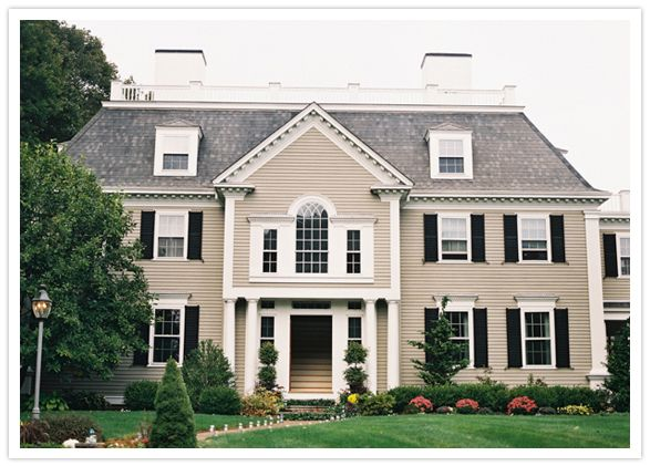 I Love The Large Window Above Front Door And Symmetry