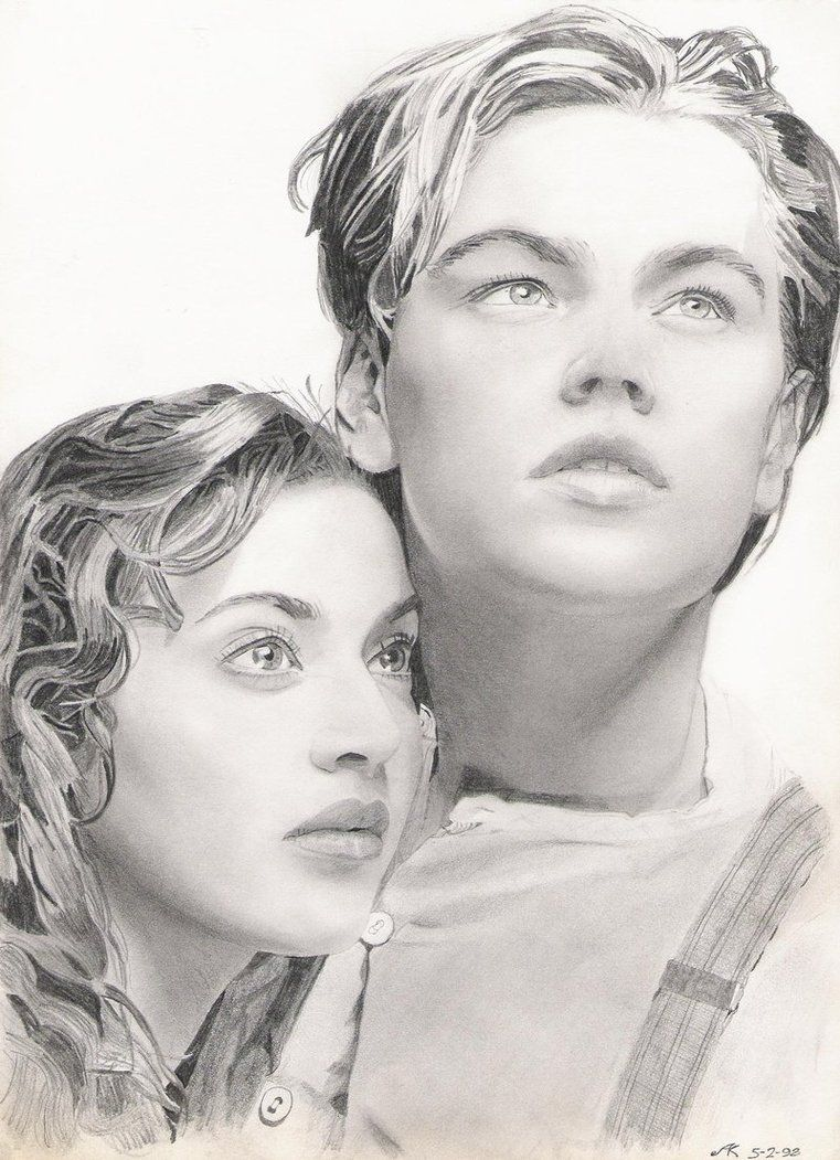 Awesome pencil drawing Titanic dibujo, Dibujos únicos