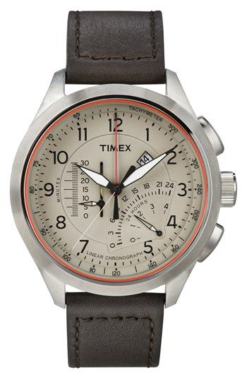 Free shipping and returns on Timex®  Intelligent Quartz  Linear Chronograph  Watch 6ba90d0a35b8