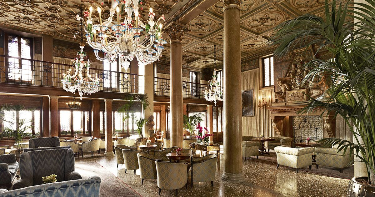One of Venice's single finest hotels is actually a trio of buildings constructed in different centuries, with many layers of history and design between them.