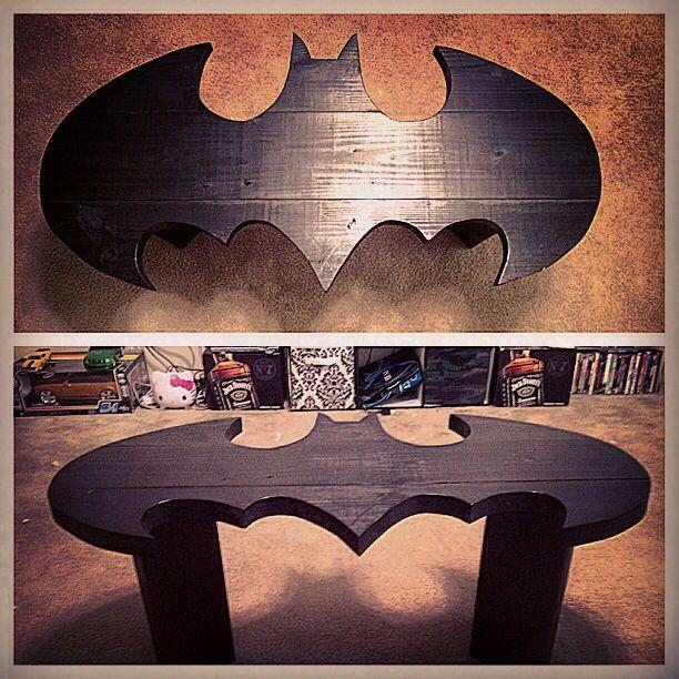 My Batman Coffee Table Batmanday Batman Room Batman Decor Batman Furniture